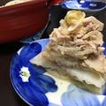 無加水鍋で白菜と薄切り豚肉のミルフィーユ