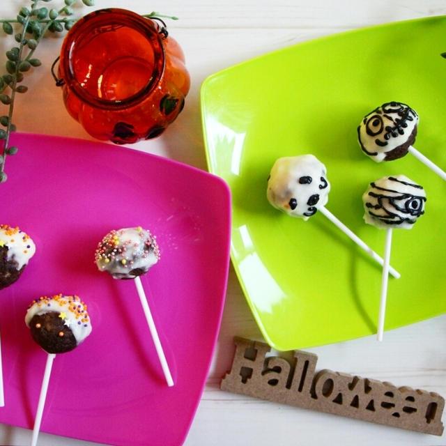 【簡単!市販品で】ハロウィンに♪お化けと魔女のロリポップ*アメトピに掲載