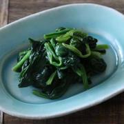 5分以内でできる副菜!ほうれん草のドレッシング和えのレシピ