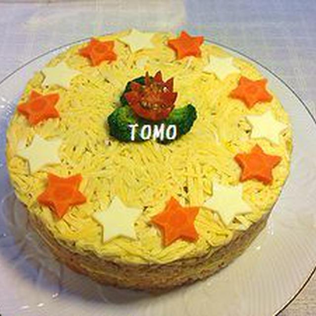 オムライスレシピコンテスト♪オムケーキ