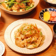 491円*さっぱり鶏胸の南蛮漬け定食【雨の唄】