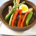 骨付きチキンから仕込んだホロホロチキンと本格夏野菜のスープカレー