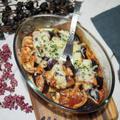 簡単なのに美味しすぎ!電子レンジとトースターでできちゃう♡【ナスのトマチーグラタン】#一人暮らし #簡単レシピ #時短レシピ #ふたりごはん #自炊 #野菜のおかず