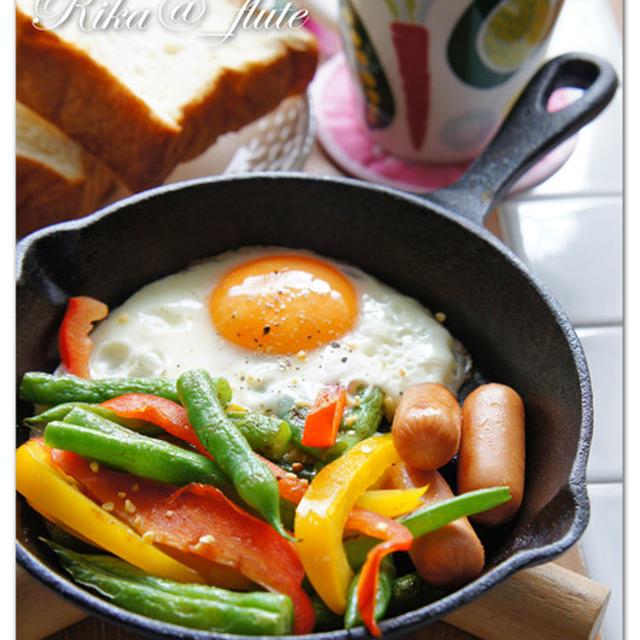ニトスキで簡単朝ごはん♪ おつまみにも!