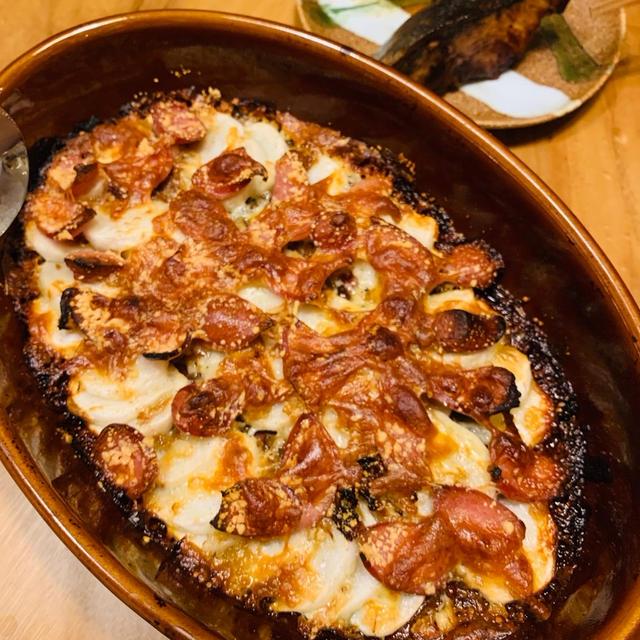 【ちゃちょっと副菜】かぶとウインナーのチーズ焼き
