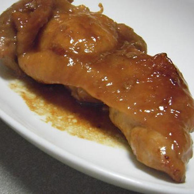 鶏もも肉のはちみつ照り焼き(はちみつなし)