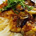 【採れ立て菜園野菜でミートパスタ】&【お裾分け分は あき流ジャーパスタで】♪ by あきさん