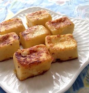 ふんわり柔らか❤︎『高野豆腐のフレンチトースト』☆ パンではありませ〜ん♪♪