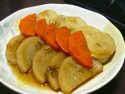 【時短】根菜の煮物