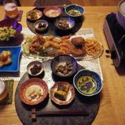 11/18の晩ごはん ドライブ帰りにつききのこ鍋とお惣菜で(^^ゞ