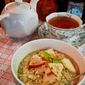 """アップルポリッジ """"Apple Porridge"""" ~ オーツでホットシリアル♥ by mayumiたんさん"""