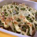 食材2つでスピード副菜♪ 舞茸と小ねぎのチーズマヨ焼き