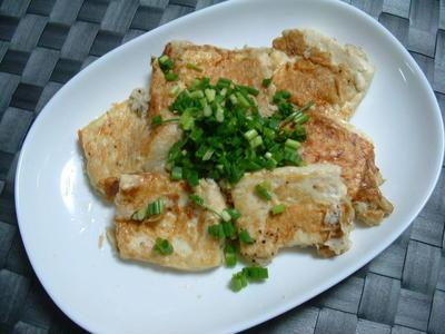 豆腐を使ったおつまみです♪