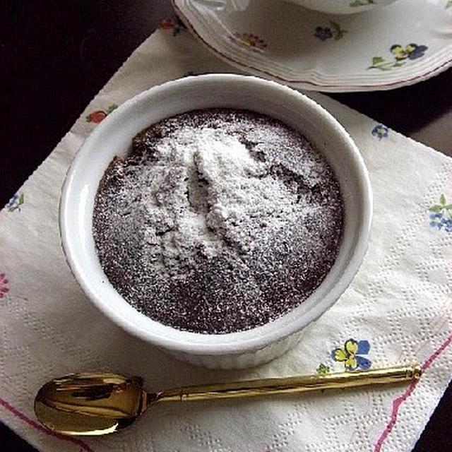 里芋でヘルシー☆チョコレートケーキ