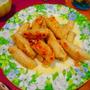 ジャガイモと生姜の肉巻き