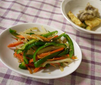 ツナのうまみで!しゃっきり野菜の炒めもの