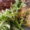 天然ぶりのグリルサラダ