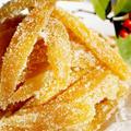 ■自家製保存食・スイーツレシピ【夏ミカンの皮で砂糖菓子(ソフトで美味しいアンゼリカ)レシピ】 by あきさん