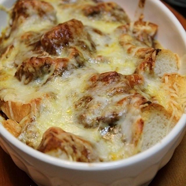 カレーチーズのパングラタン