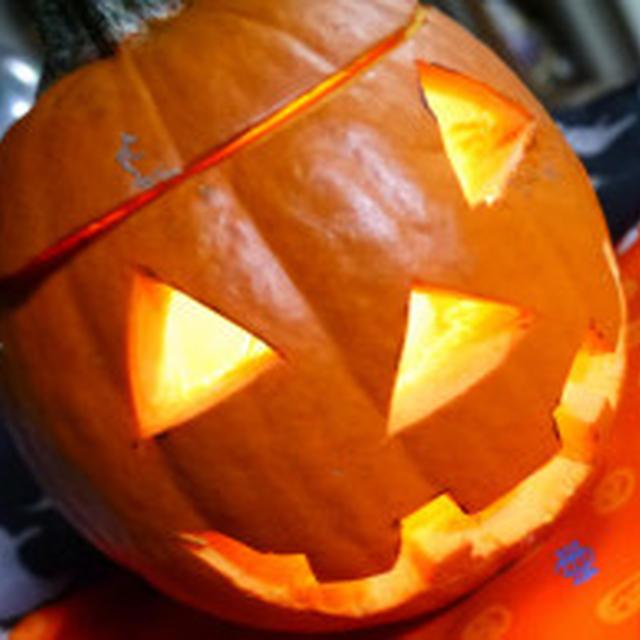 ハッピーハロウィン坊ちゃんかぼちゃのチーズ焼き