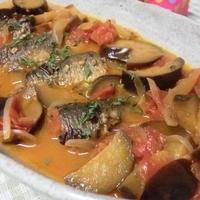 野菜ジュースで10分☆ 焼きイワシの野菜スープ煮