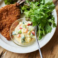 野菜を食べる、ヨーグルトタルタルソース