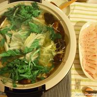 たっぷりお野菜と塩だしの鯛しゃぶ鍋