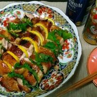 おもてなし料理に最適♪♪グリルで簡単!!鶏の照り焼き香りはさみ