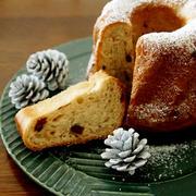 クリスマスのパン・・ラム香るクグロフにゃ♪