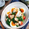 卵とブロッコリーのデリ風サラダ【#簡単 #節約 #時短 #おもてなし #副菜】