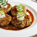 鶏と豆腐の和風ハンバーグ