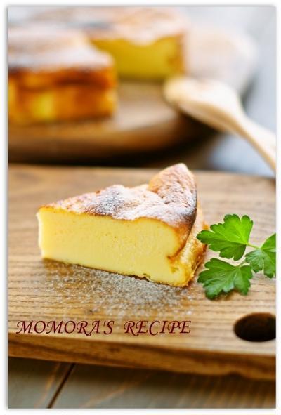 ホットケーキミックスで簡単・節約お菓子♪ヘルシー豆腐ヨーグルトチーズケーキ♡ノンオイル・ノンシュガー