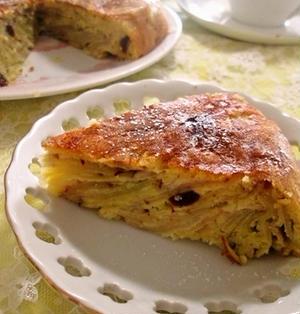 炊飯器で♡さつま芋とりんごのガトーインビジブル風ケーキ