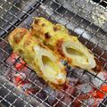 『お総菜のちくわの天ぷら』の炭火焼