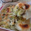 白菜とハムがあれば♪ とろとろ白菜煮のチーズ焼き