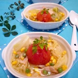 疲れた体をほっこり癒す♪春野菜をつかった「スープ」5選