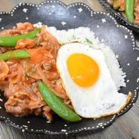 【ボーソー米油部】豚肉と新たまねぎのイタリアン丼