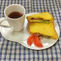 レタス&ベーコンのフレンチトースト