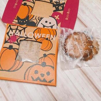 ハロウインにピッタリクッキーケース!