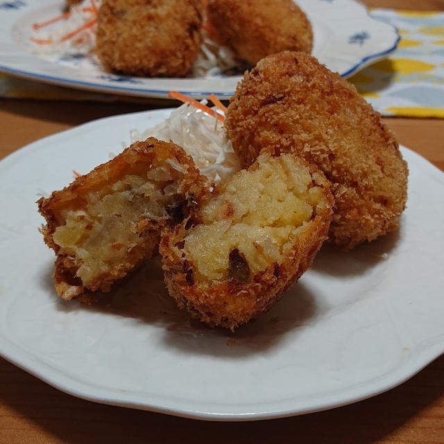 北海道産生秋鮭で作る☆サーモンコロッケ