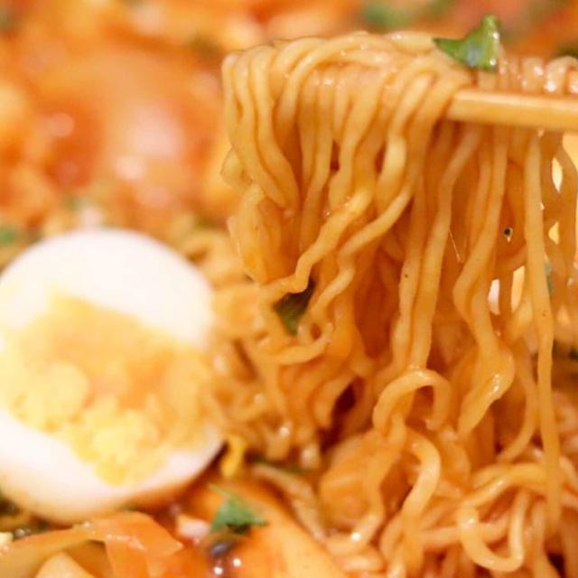 話題!韓国料理『ラッポッキ』食べてみた #コストコ #インスタント麺