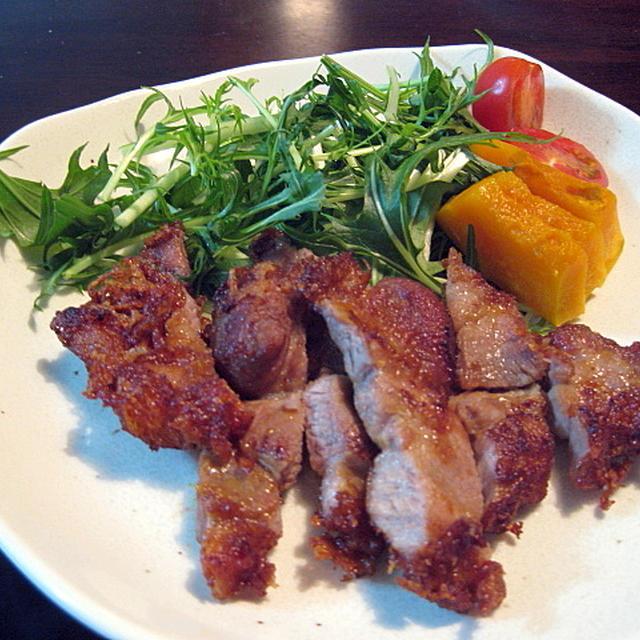 豚ロース肉のパーコー風
