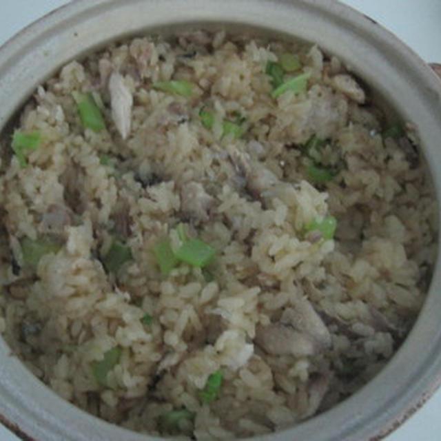 サンマと大根おろしの炊き込みご飯