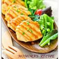 野菜のオーロラソース炒め