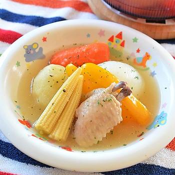 チリの家庭料理、ごろっと野菜を煮込んだ「カスエラ」♪