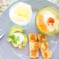 彩り華やか&簡単朝ごはん キヌアのスープ パプリカ風味