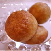 アンチエイジングなスイートポテトドーナツ♪ホットケーキミックス使って牛乳・卵不使用