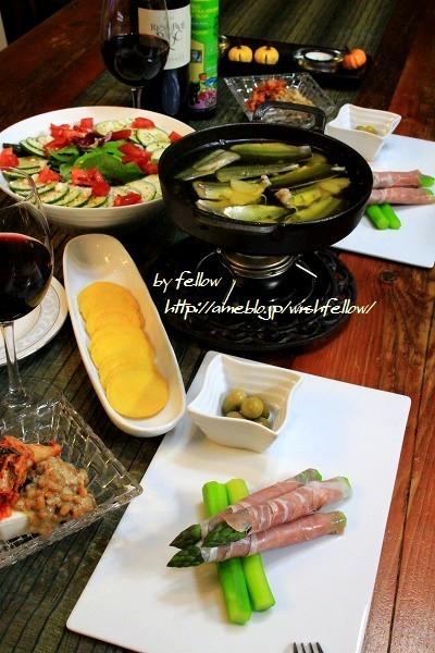 ◆秋刀魚のアヒージョでおうちごはん♪~ゆるやか糖質制限♪