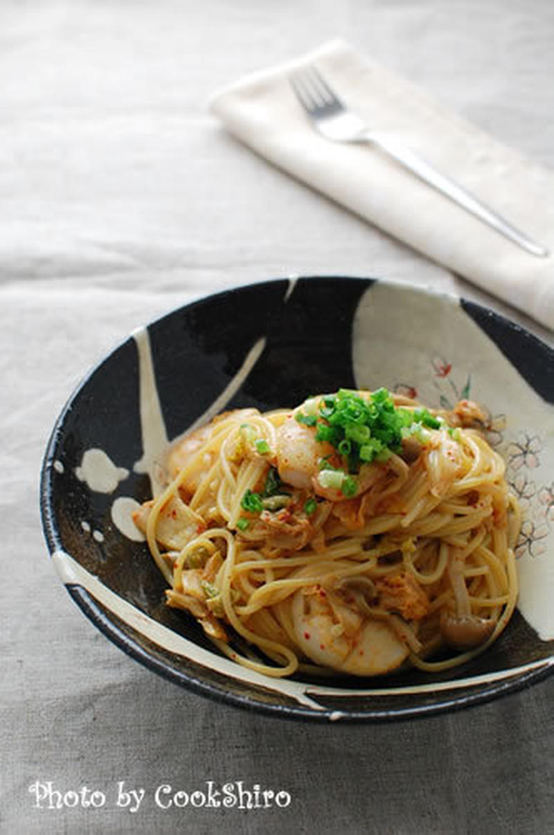 辛いもの好きはキムチを使おう!お腹も満たされる満足パスタレシピ