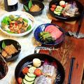 ◆太刀魚とパンチェッタグリルとカマスの黒酢南蛮♪